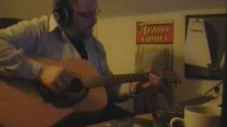 Take me home country roads - John Denver. Instrumental guitar played by Fridrikur Ellefsen