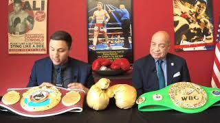 MANNY PACQUIAO vs. KEITH THURMAN BOXING TALK SHOW