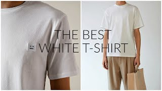 THE BEST WHITE T-SHIRT | How much should you spend? | Men