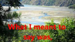 What I meant to say - Wade Hayes