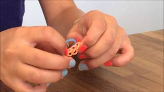 Bagues élastique, Ring with Rainbow-Loom