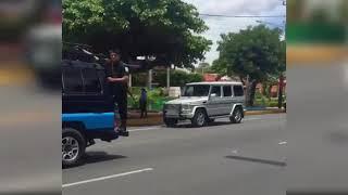 El aparato de seguridad con el que Daniel Ortega y Rosario Murillo llegaron al diálogo