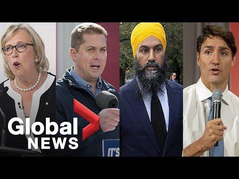 Canada's election campaign: