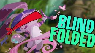 DRAWING BLINDFOLDED IN ANIMAL JAM!