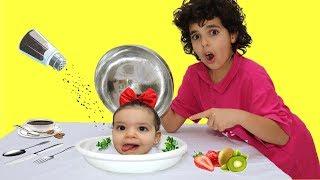 sami and funny stories with amira - سامي وقصص مضحكة مع أميرة