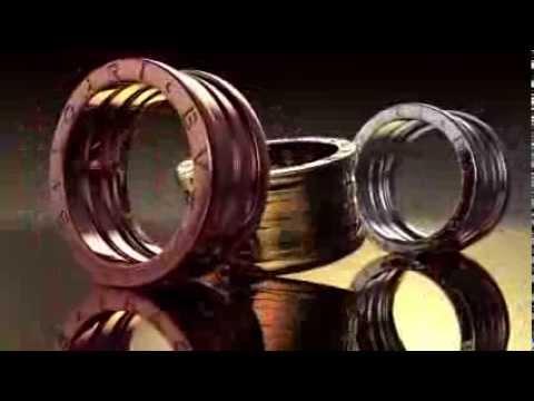 Bvlgari B.Zero1 18K Yellow Gold Ring - YouTube