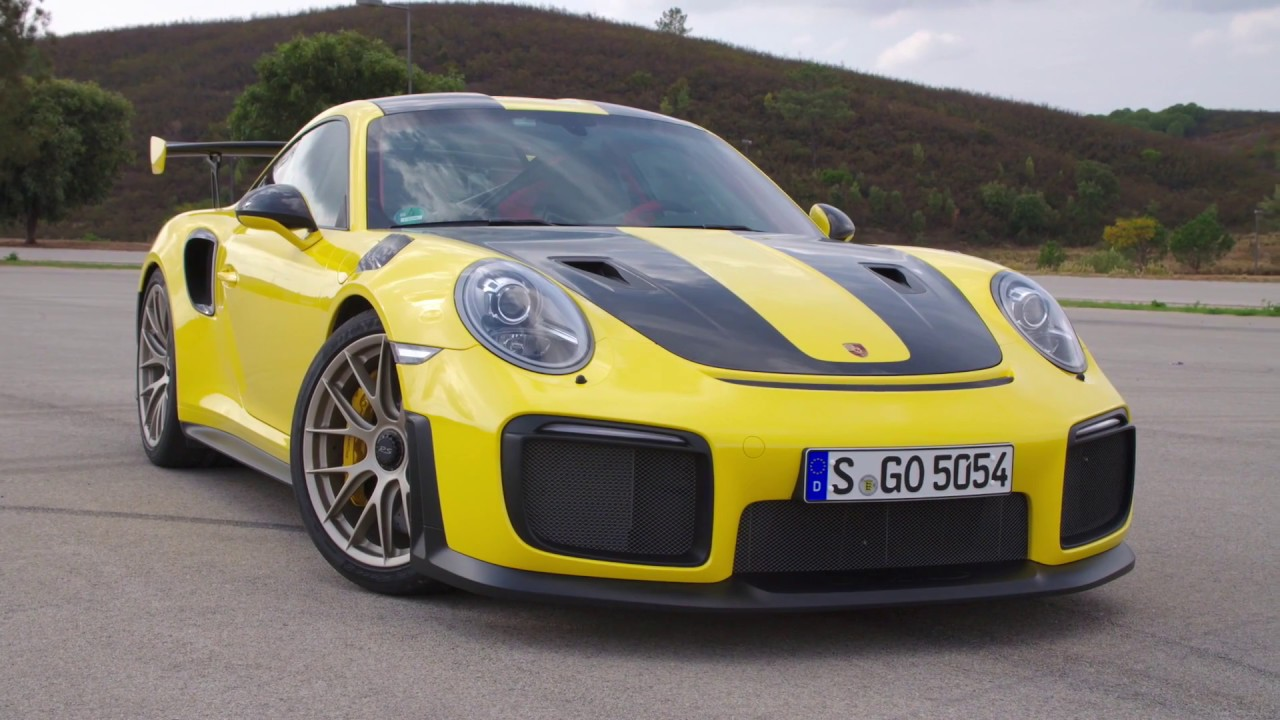 Porsche 911 Gt2 Rs In Racing Yellow Design Youtube
