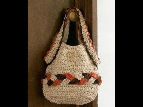 Crochet bag Free Crochet Patterns177 - YouTube