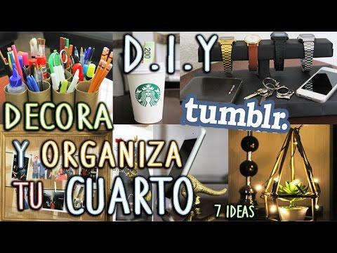 Diy decora y organiza tu cuarto tumblr f cil y r pido - Decora tu habitacion online ...