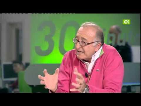 Antonio Tejera Gaspar, entrevista en 30 Minutos