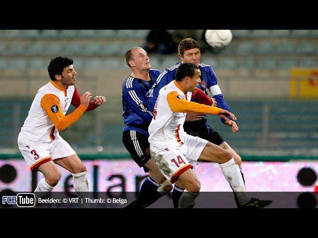 2005-2006 - UEFA-Cup - 02. 16de Finale - AS Roma - Club Brugge 2-1