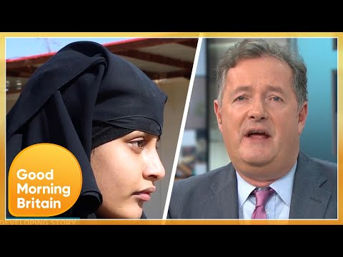 Should Shamima Begum Be Allowed to Return to Britain to Be Tried in Court? | Good Morning Britain