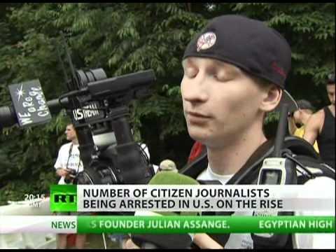 Baton vs camera: Police open hunt for citizen journalists
