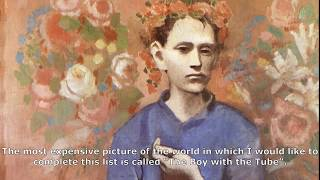 A boy with a pipe is the most expensive painting by Pablo Picasso in the world for $ 104,000,000