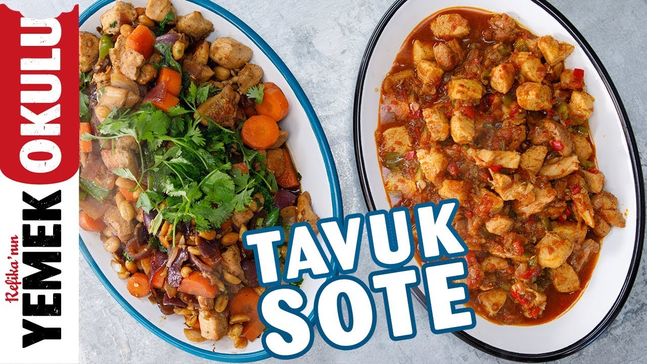 Tavuk Sote Tarifi Videosu