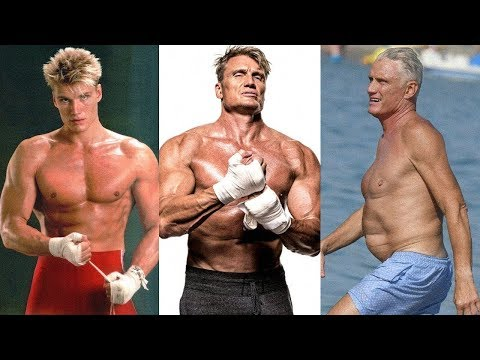 Dolph Lundgren Transformation 2018  From 1 to 60 Years Old