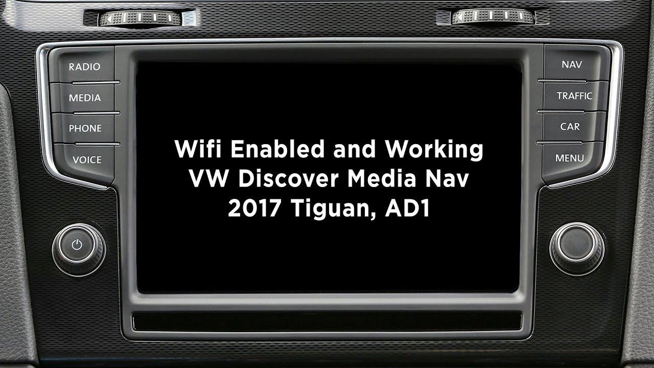 wifi on tiguan ad1 2017 discover media youtube. Black Bedroom Furniture Sets. Home Design Ideas