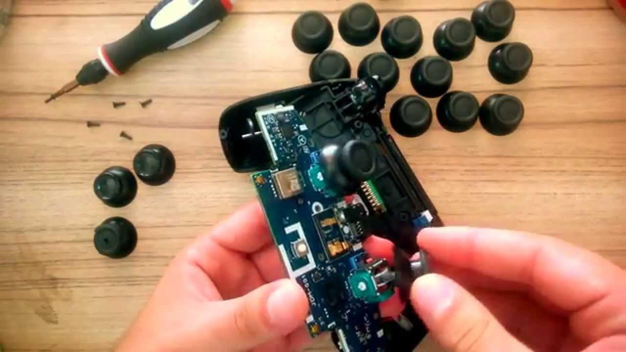 Desmontar Joystick Ps4 - Trocar Analógico - Playstation 4 ...