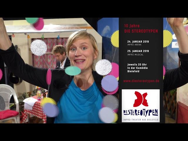 10 Jahre: Die Stereotypen - Impro-Theater aus Bieleld - Clip #1