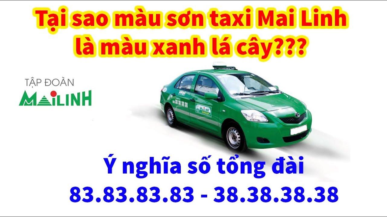 Tại sao taxi Mai Linh lại có màu xanh???