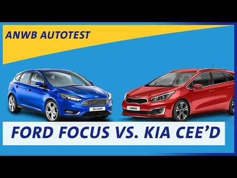 ANWB test Kia Cee'd vs Ford Focus