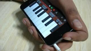 Sanam Re   iPhone GarageBand   Instrumental   listen with headphones.