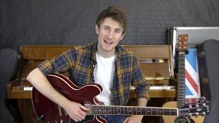 Don't Go Away   Oasis Guitar Tutorial