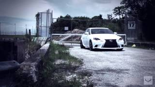 "2014 Lexus IS350 F-Sport on 20"" Vossen CV5 