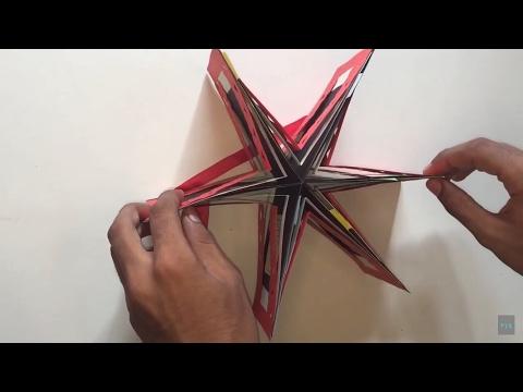 POP- UP STAR ALBUM | STAR BOOK ALBUM | SCRAPBOOK FOR BIRTHDAY ANNIVERSARY | DIY CRAFT - Post 10