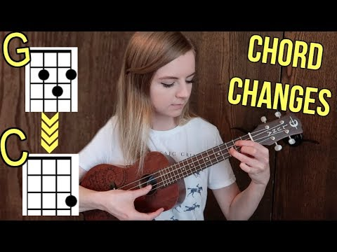 How to practice chord changes on ukulele! (faster and smoother transitions)