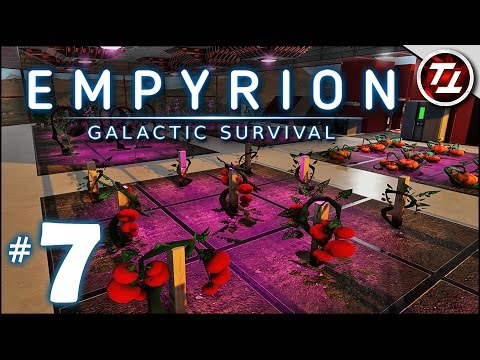 Empyrion: Galactic Survival Gameplay - #7 - Huge Farming Addition! - Let's Play