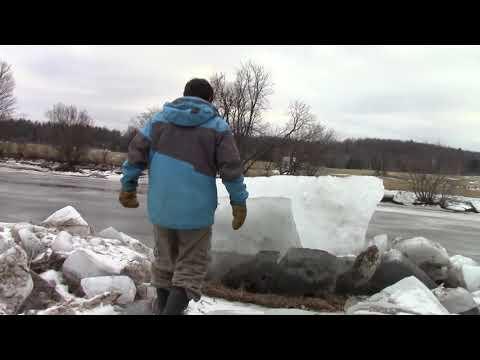 Brownway River Trail Ice  Enosburg Falls, VT