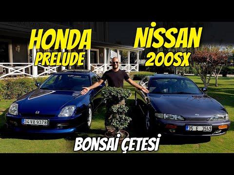 Nissan 200SX Ve Honda Prelude   90'ların Samurayları