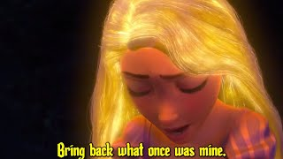Tangled [Mandy Moore] - Healing Incantation - Official Disney Movie Clip [3D] - Sing Along Words