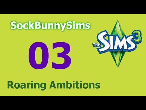 Sims 3 - Roaring Ambitions - Ep 03 - Old Man Makeover