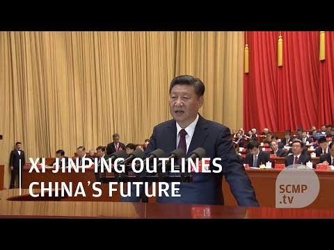 Xi Jinping outlines China's future at 19th party congress
