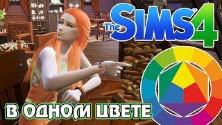 Челлендж - The Sims 4 - В одном цвете