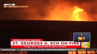 Fire scare at St. George's Girls High School, Nairobi