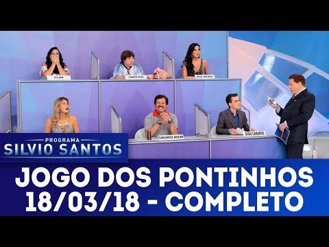 Jogo dos Pontinhos - Completo | Programa Silvio Santos (18/03/18)