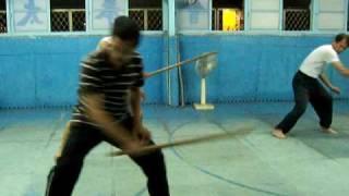 太極短棍32式 ( 32 Forms - Short Tai Chi  Gun) 第一次練習