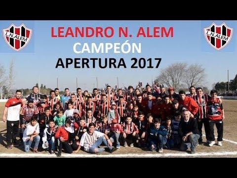 ALEM CAMPEÓN TORNEO APERTURA 2017 - Liga Villamariense de Fútbol