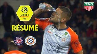 Toulouse FC - Montpellier Hérault SC ( 0-3 ) - Résumé - (TFC - MHSC) / 2018-19