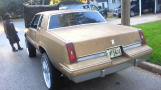 Cutlass on 26s 350 olds motor (project)