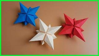 Cómo hacer una estrella 3D - Origami