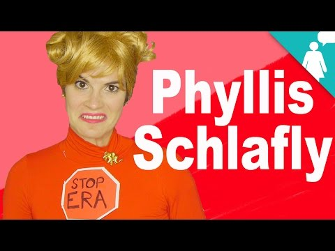 Phyllis Schlafly & Me