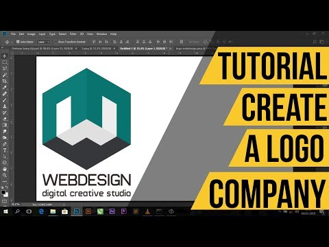 Create a 3D Logo with CorelDraw quickly and easily understood and explained in the video # 3Dlogo #C.