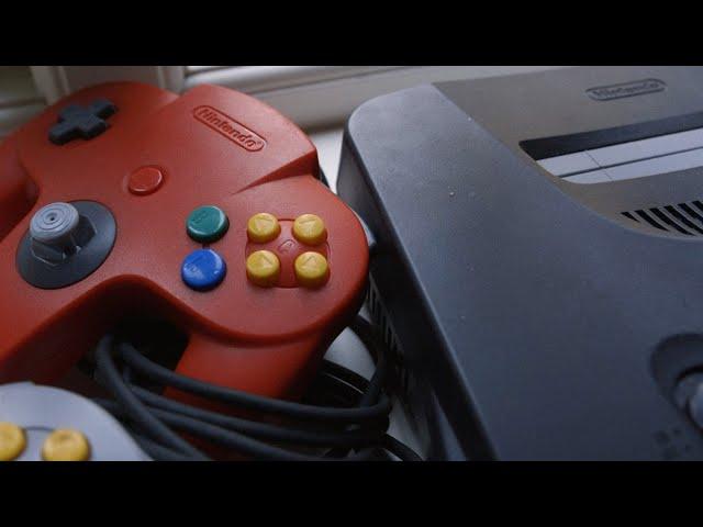 Ole har kjøpt Nintendo 64 på Vestkanttorget