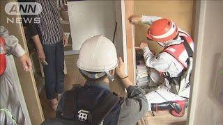 「白アリが出ると・・・」浸水した住宅の被害調査 宮城(19/10/24)