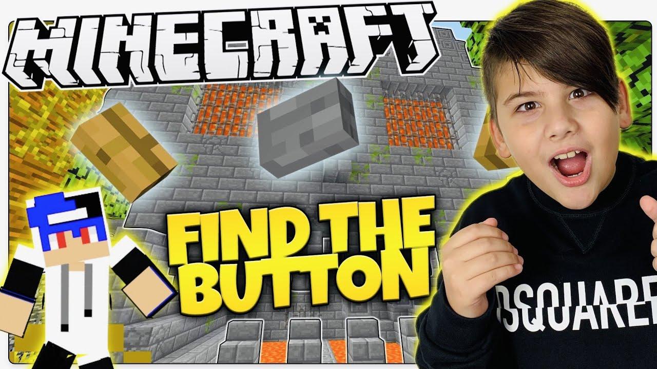 Καταφέραμε με το Noobaki να περάσουμε το πιο δύσκολο Map Find The Button Minecraft Famous Games