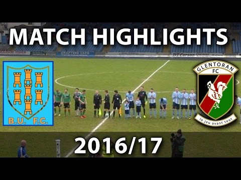 Ballymena United vs Glentoran - 18th March 2017